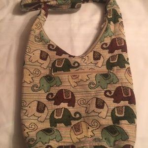 0b1f2ac7c90e Bags - Elephant Multi Color Hobo   Tote Bag
